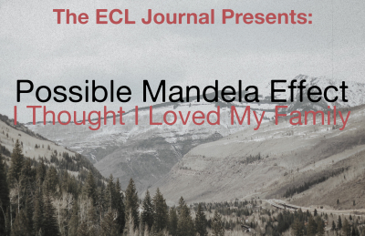 ECL Journal: Possible Mandela Effect